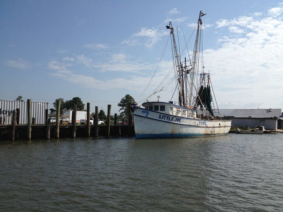 Commercial fishing vessel in Hyde County, NC. This region has one of the most diverse fishing industries in the country. Photo Credit: AaronMcCall