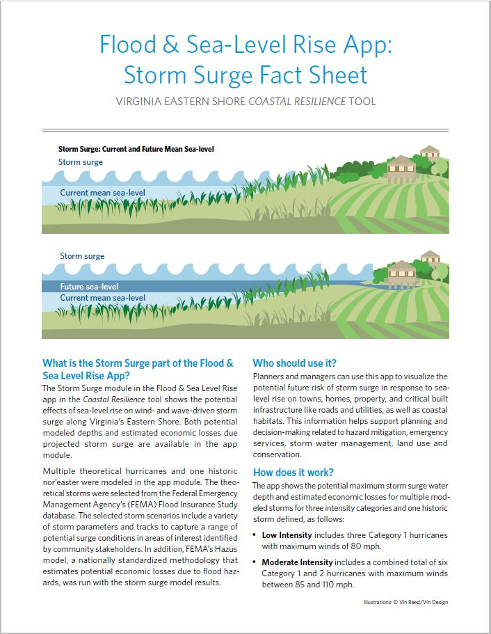 Flood & Sea Level Rise App: Storm Surge Fact Sheet