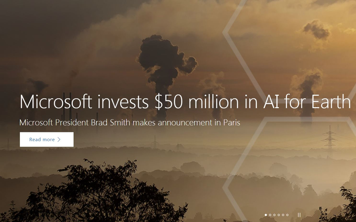 Microsoft Invests $50 Million in AI Climate Change Program